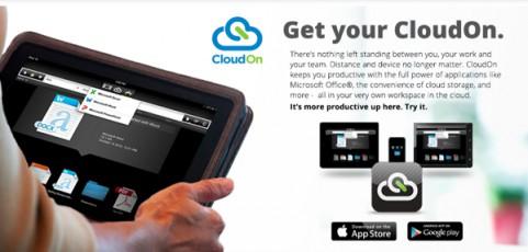 CloudOn เปิดพีซีบนมือถือ-แท็ปเบล็ต